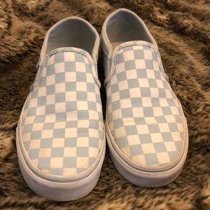 Vans Classic Checkerboard Slip On Sneakers